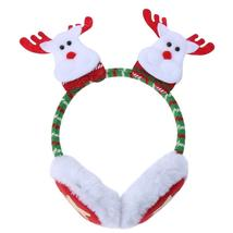 (as picture)Christmas Santa Claus Adult Kids Decor Warm Earmuffs Party T... - $16.00