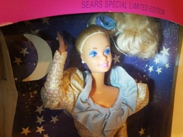 NIB-1989-EVENING ENCHANTMENT BARBIE DOLL-SEARS LIMITED EDITION-REVERSIBL... - $24.70