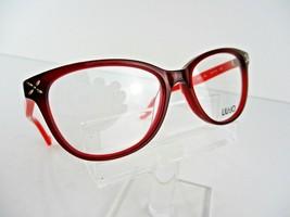 LIU JO  LJ 2605 (604) Burgundy 52 x 16 135 mm Eyeglass Frame - $46.71