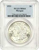 1921 Morgan $1 PCGS MS64 - Morgan Silver Dollar - $77.60
