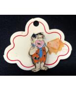 Vintage Original 1970's Fred Flintstone Hanna Barbera Pin Lapel Hat w Tag - $77.99