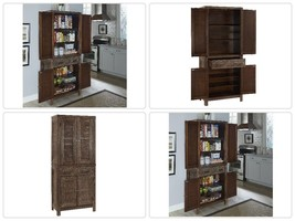 Classic Barnside Pantry Food Storage Cabinet Kitchen Space Save Spacious... - €1.662,83 EUR
