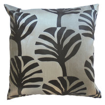 KN250 leaf Tree gray Cushion cover Throw Pillow Decoration Case - $7.99