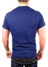 Levi's Men's Premium Classic Graphic Cotton T-Shirt Shirt Tee Blue image 2