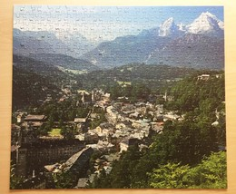 "Vintage 50s Whitman Guild Jigsaw Puzzle- #4615-4 ""Berchtesgaden, Germany""  image 2"