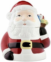 Martha Stewart Collection Santa Cookie Jar Holiday Christmas Santa Claus - $55.85