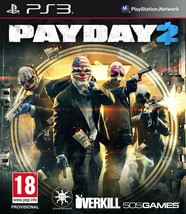 "PAYDAY 2 PS3 Playstation 3 ""PAL"" - $9.00"