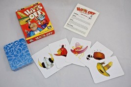 Hats Off By Gamewright Games 100% Complete A Mad Cap Card Game - $6.43