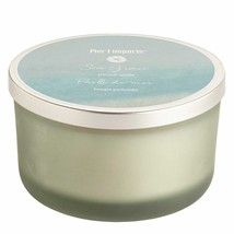 NWT PIER 1  SEA GRASS  3  WICK CANDLE - $27.71