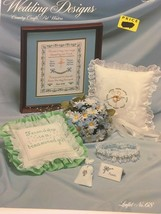 Wedding Designs Country Craft Pat Waters Counted Cross Stitch Sampler Le... - $3.50