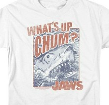 Jaws Whats up Chum? retro 70s 80s classic movie graphic t-shirt UNI537 image 2