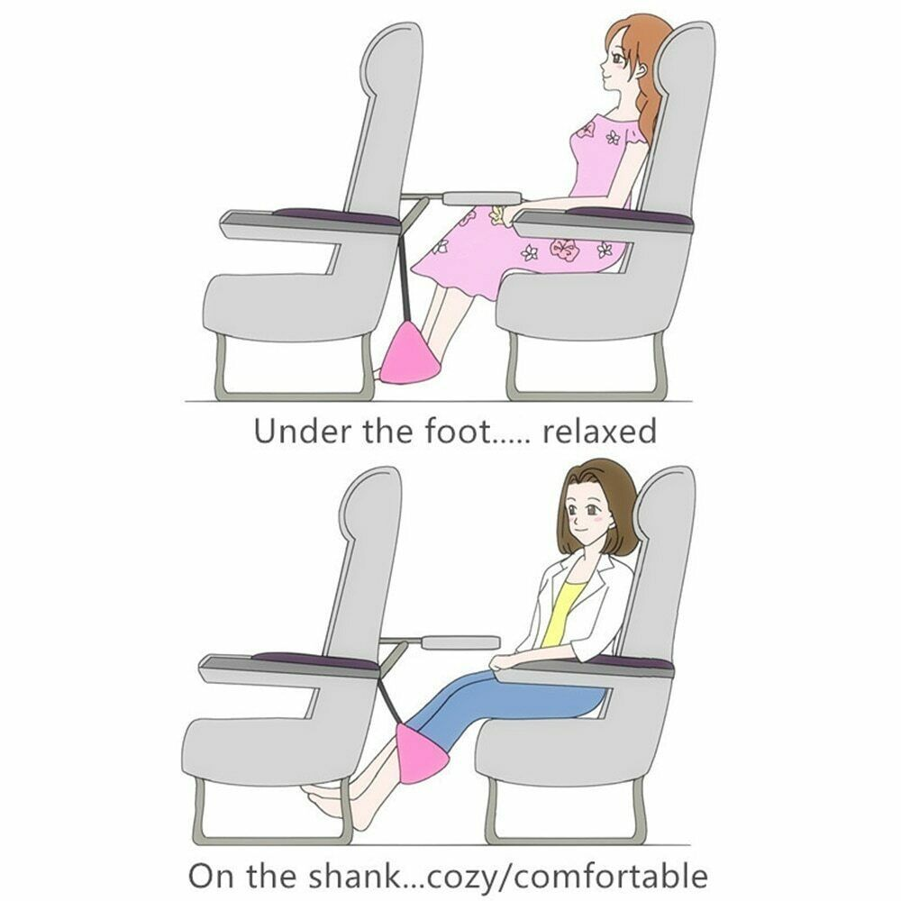 Home Foot Hammock Travel Outdoor Indoor Mini Foot Feet Rest Comfy hanger 2019