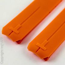 Orange rubber strap watchband for Tissot T-Touch Z253/Z353 Z252/Z352 20m... - $38.61