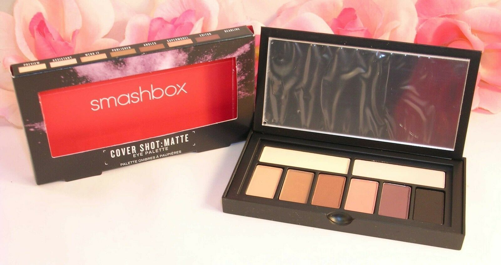Primary image for New Smashbox Cover Shot Matte Eye Shadow Palette 8 Shades .27 oz / 7.8 g