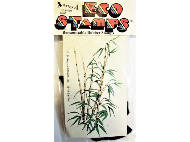 Eco Stamps Bamboo Unmounted Rubber Stamp #G-19