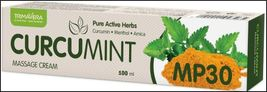 Turmeric CURCUMIN with MINT - massage cream for pain relief = CURCUMINT C - $29.21