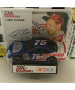 Racing Champions Todd Bodine #75 Nascar Stock Car Toy 1995 Edition Stand... - $4.50