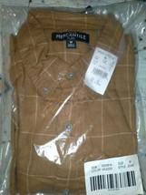 J.Crew Mercantile Men's Slim-fit Long-Sleeve Brushed Twill Shirt MED HEATHER RYE image 1