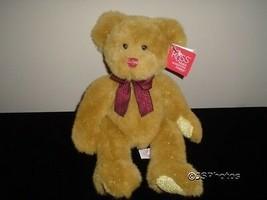 Russ Berrie Garland Bear 14 Inch Plush 32293 Tags - $39.39