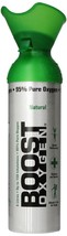 Boost Oxygen *Five-Pack* - 95% Pure Oxygen in 22oz. Cans - $69.95