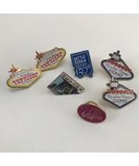 Lot Of Las Vegas Nevada Themed Travel Souvenir Pins - $3.95