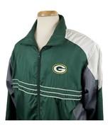 Green Bay Packers Men's XL Jacket Windbreaker Sports Illustrated Reebok ... - $14.79