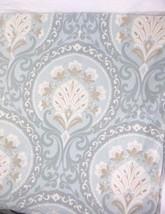 Pottery Barn Ravenna Floral Medallion Pale Blue Cream Full/Queen Duvet C... - $84.00