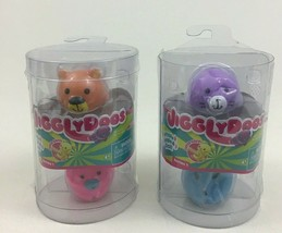 JigglyDoos Bear Unicorn Seal Bunny Lot of 2 Packs 4 Total Series 1 Jakks... - $10.84