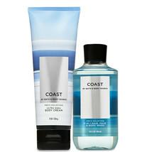 Bath & Body Works Coast Body Cream & 2 -in-1 Hair + Body Wash Duo Set - $34.95