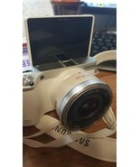 [SAMSUNG] NX500 28MPINTERCHANGEABLE LENS CAMERA WITH 16-50MM White USED - $598.00