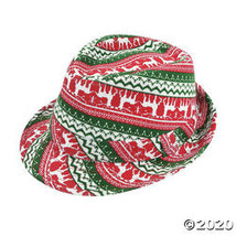 Ugly Sweater Fedora Hat - $21.23