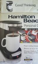 Hamilton Beach Personal Cup 49970 1 Cups Coffee... - $17.81
