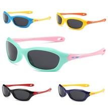 Polarized Boys Girls Kids UV 400 Plastic Titanium Goggle Summer Sun Glas... - $15.97