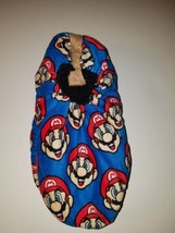 Nintendo Super Mario fuzzy Babba slipper socks men's sizes L XL  new wi... - $18.00
