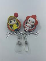 Georgie and Pennywise Clay Badge Reel  image 2