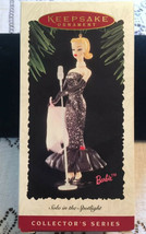 Hallmark Keepsake Ornament Solo in the Spotlight Barbie Collector's Singer - $12.67