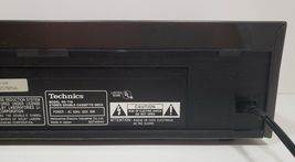 Technics Stereo Double Cassette Deck RS-T18...Tested image 8