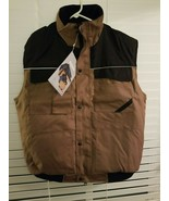 Mckinley M. WEAR Waterproof All Weather Vest Tan with Black Windproof - ... - $18.56