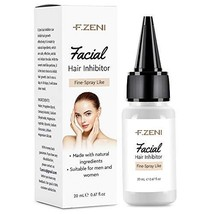 F.ZENI Hair Inhibitor, Painless Facial Hair Growth Inhibitor, Hair Removal for W