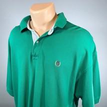 Vintage Tommy Hilfiger XL Polo Mens Shirt Size XL Green Short Sleeve - $18.69