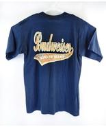 VTG Budweiser Men's Paisley Spell Out Beer 1992 Single Stitch T-Shirt Sz... - $34.64