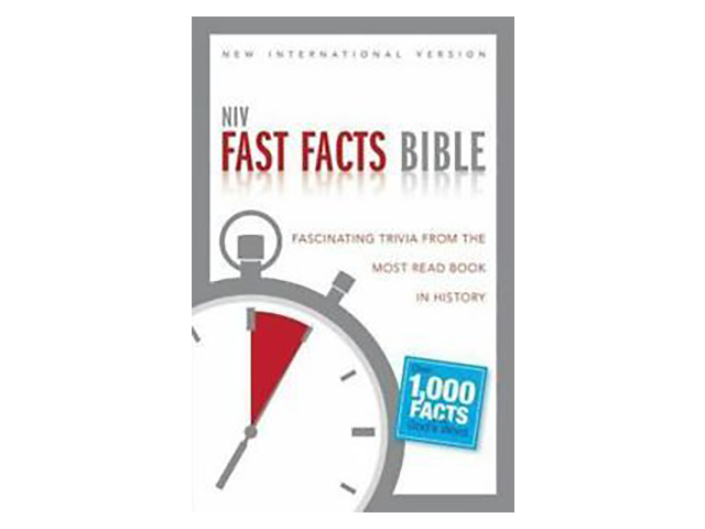 NIV Fast Facts Bible : Fascinating Trivia from the Most Read Book in History by