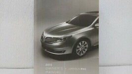 2013 Lincoln Mks Owners Manual 73464 - $33.98