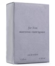 Narciso Rodriguez For Him EDT 100ml 3.3oz Eau de Toilette Brand New 100%... - $65.97