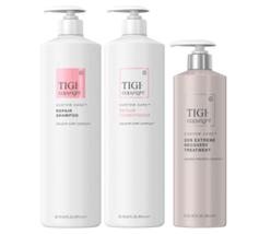 TIGI Copyright SOS Repair Shampoo, Conditioner, & Recovery Treatment Trio