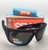 Nuovo Spy Optic Occhiali da Sole Touring Morbido OPACO Nero Montatura Happy