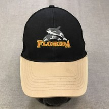 Florida Unisex One Size Baseball Cap Whales Black Beige Adjustable Snapb... - $14.80