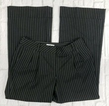 Ann Taylor Loft Women's 6P Petite Marisa Striped Trouser Cuffed Dress Pa... - $15.15