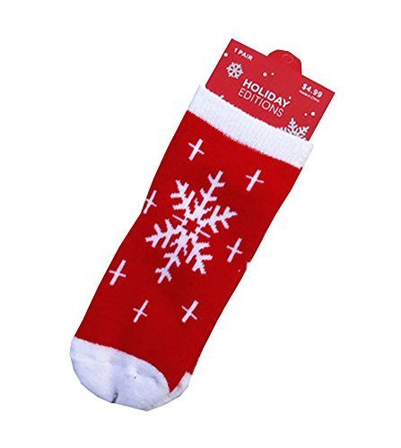Set of 4 Christmas Theme Baby Socks Lovely Snow Cotton Winter Baby Socks S