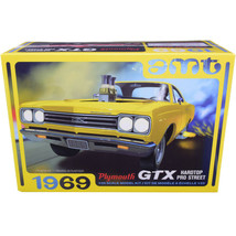Skill 2 Model Kit 1969 Plymouth GTX Hardtop Pro Street 1/25 Scale Model ... - $52.20